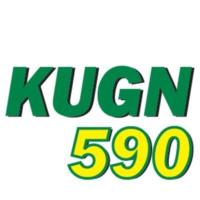 Logo of radio station KUGN 590