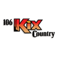 Logo of radio station KQKX KIX Country 106