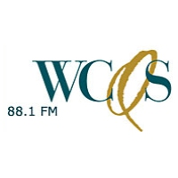 Logo of radio station WCQS NPR 88.1 FM