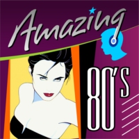 Logo of radio station Amazing 80's