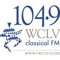 Logo of radio station WCLV