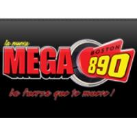 Logo of radio station WAMG La Nueva MEGA Boston 890