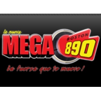 Logo of radio station WAMG La Nueva MEGA Boston 890