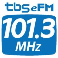 Logo of radio station tbs eFM 101.3