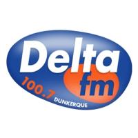 Logo de la radio Delta FM Dunkerque 100.7
