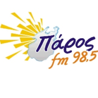 Logo of radio station Paros FM