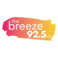Logo of radio station KBEB 92.5 The Breeze