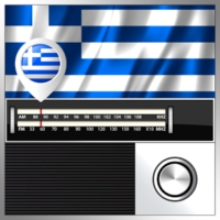Logo of radio station GREEK WORLD RADIO