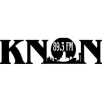 Logo of radio station KNON 89.3 FM