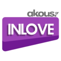 Logo of radio station Akous. InLove