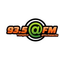 Logo of radio station XHPP @FM 93.5
