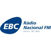 Logo of radio station Rádio Nacional FM Brasília