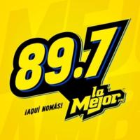 Logo of radio station XHAK  La Mejor FM 89.7
