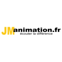 Logo of radio station JM Animation