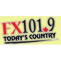 Logo of radio station FX 101.9 FM
