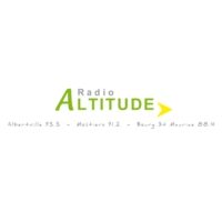 Logo of radio station Radio Altitude Bourg-Saint-Maurice