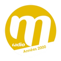 Logo of radio station M Radio Années 2000