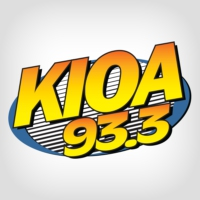 Logo of radio station KIOA 93.3