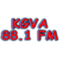 Logo of radio station KGVA