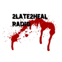 Logo of radio station 2LATE2HEAL METAL Radio