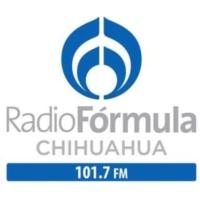 Logo of radio station XHV-FM Radio Fórmula 101.7