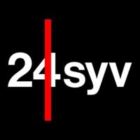 Logo of radio station Radio24syv 100.5 FM Sonder Hojrup