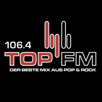 Logo of radio station 106.4 Top FM