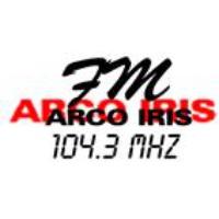 Logo de la radio FM Arco Iris 104.3 Mhz