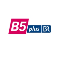 Logo of radio station B5 Plus