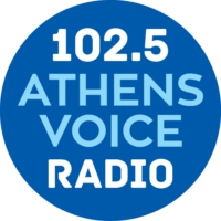 Logo of radio station ATHENS VOICE RADIO 102.5