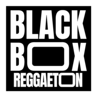 Logo of radio station BlackBox Reggaeton