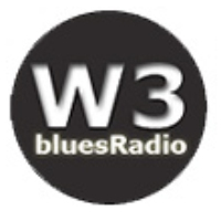 Logo of radio station W3 bluesRadio
