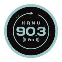 Logo of radio station KRNU 90.3