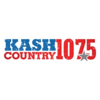 Logo of radio station KASH Country 107.5