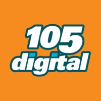 Logo de la radio 105 digital