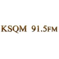 Logo of radio station KSQM