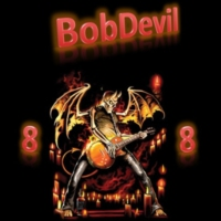 Logo of radio station BobDevil 88