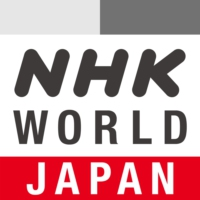 Logo of radio station NHK Radio Japan
