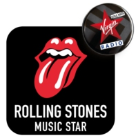 Logo of radio station Rolling Stones Music Star