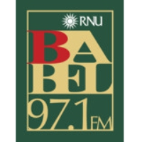 Logo of radio station Babel FM