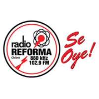 Logo of radio station Radio Reforma