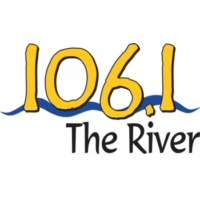 Logo of radio station WWWY 106.1 The River