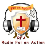 Logo of radio station foi en action radio