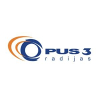 Logo of radio station Lithuanian Radio OPUS 3