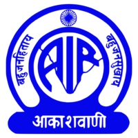 Logo of radio station AIR Radio Kashmir