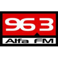 Logo of radio station Alfa FM