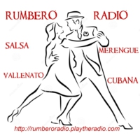 Logo of radio station rumbero radio