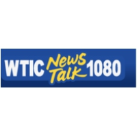 Logo of radio station WTIC News Talk 1080 AM