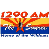 Logo of radio station KCUB The Source