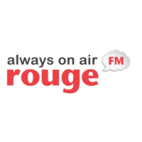 Logo of radio station Rouge FM
